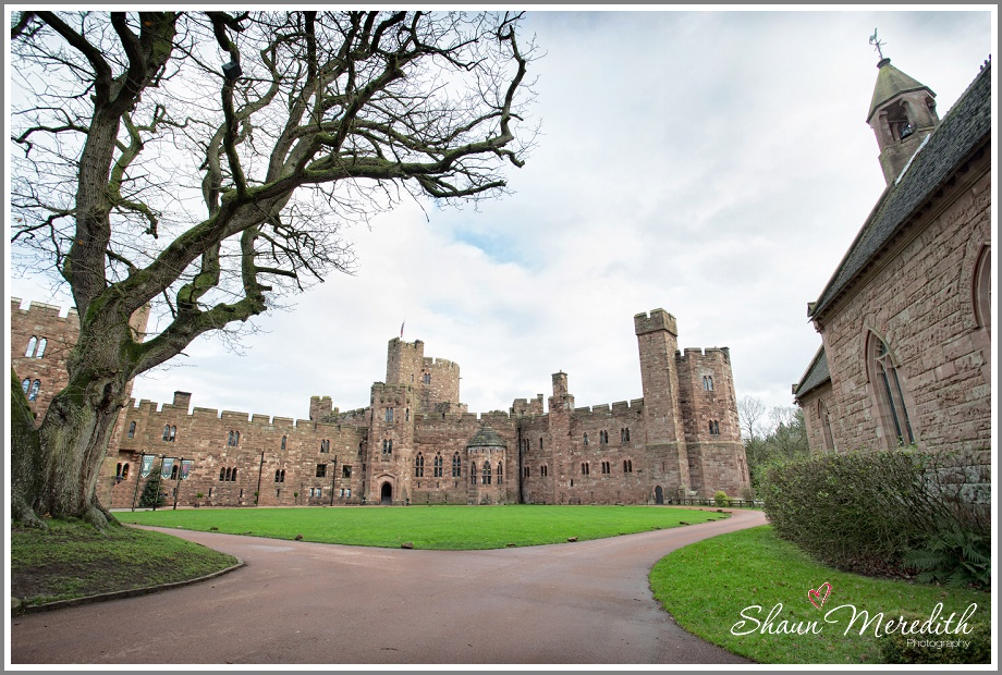 Excited Groom at Peckforton Castle