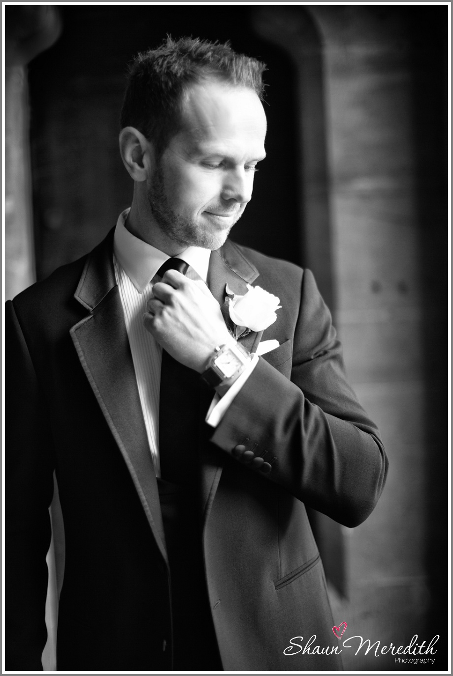 Groom at Peckforton Castle