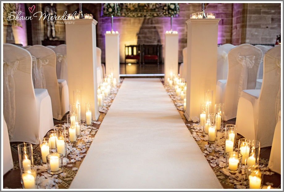 Aisle at Peckforton Castle