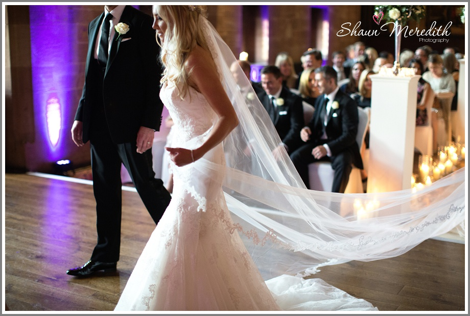 Julie and Marcus wedding ceremony at Peckforton Castle