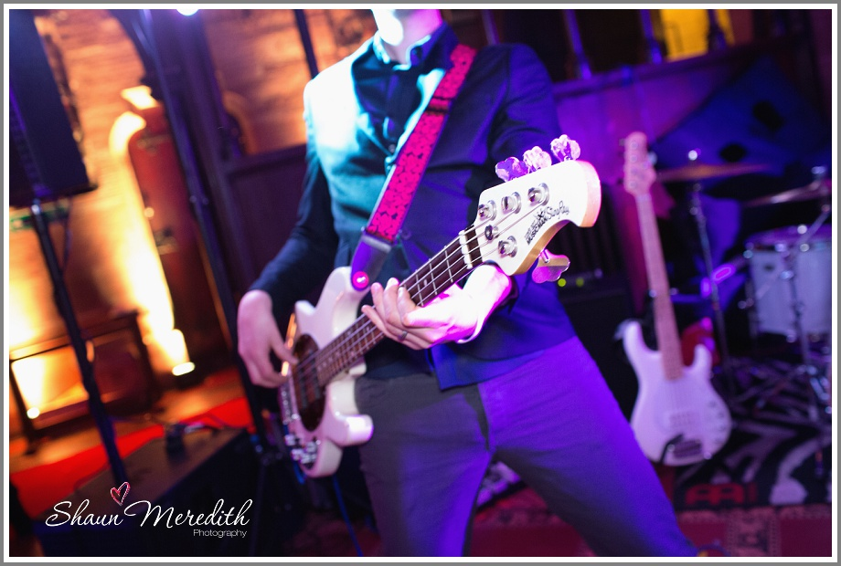 Wedding band at Peckforton Castle