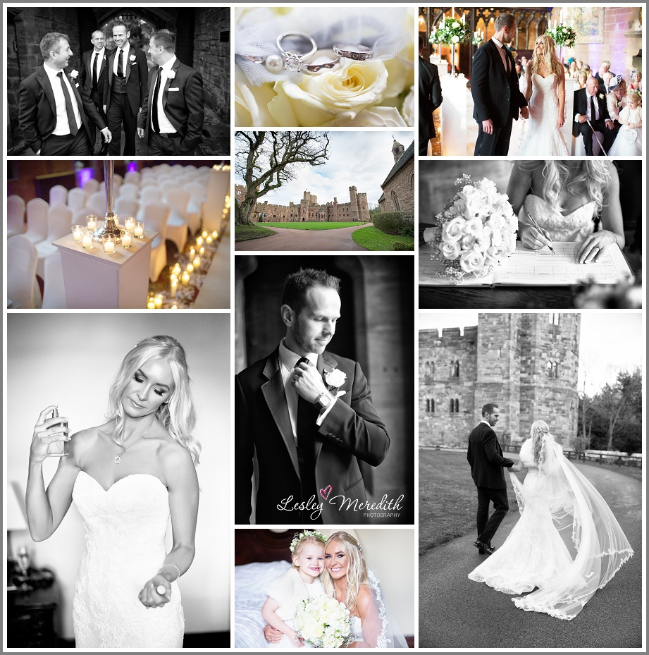 Julie & Marcus Wedding collage