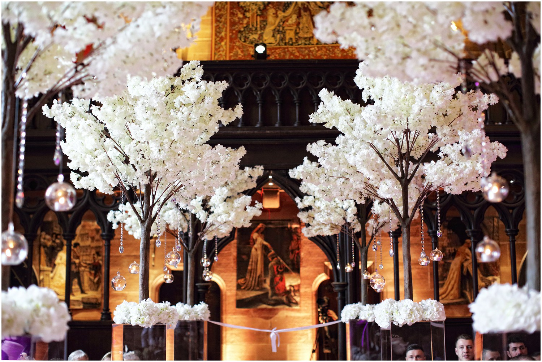 blossom trees peckforton castle