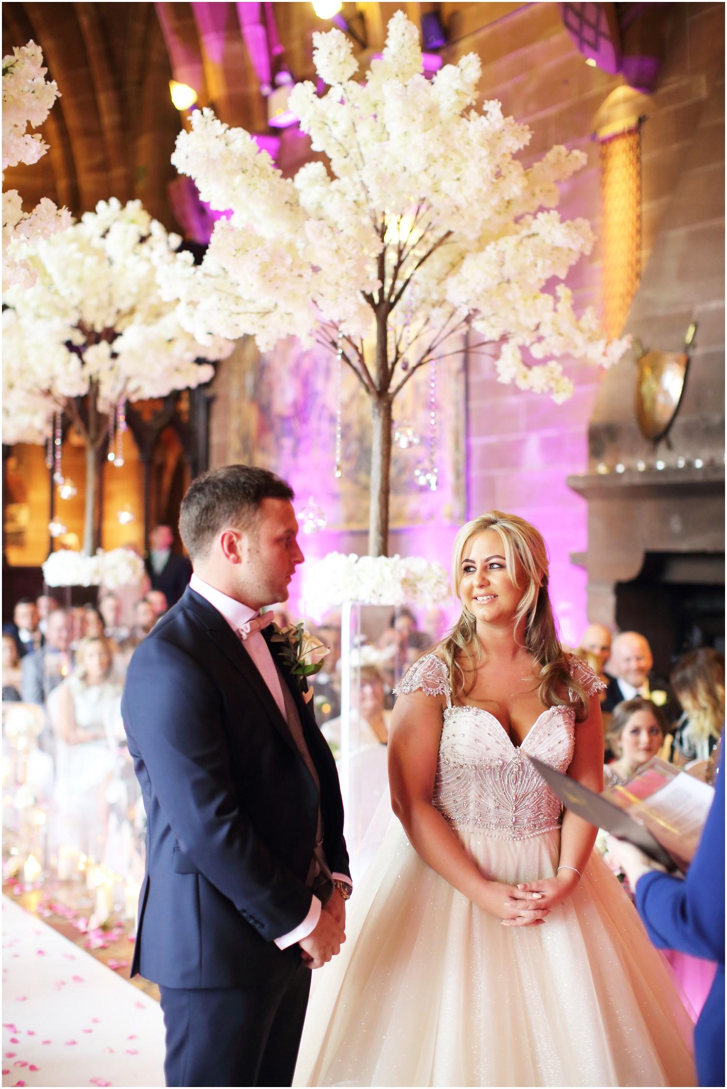 bride and groom civil ceremony