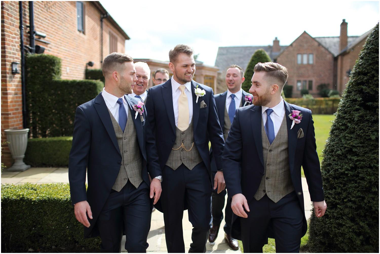 groom and groomsmen Merrydale manor
