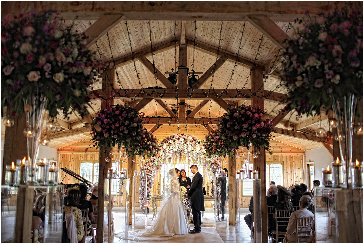 back view Merrydale manor ceremony suite