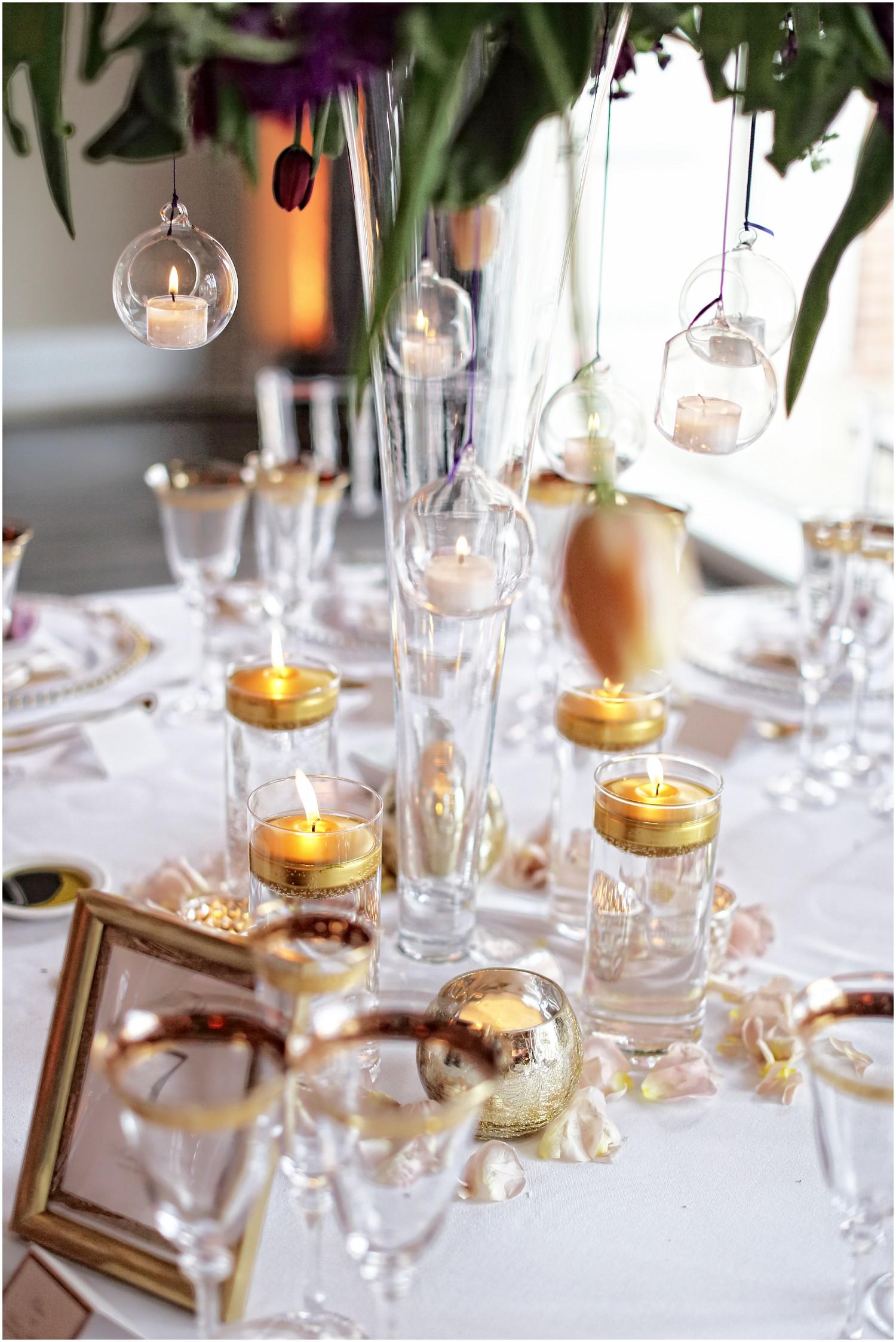 table tealights