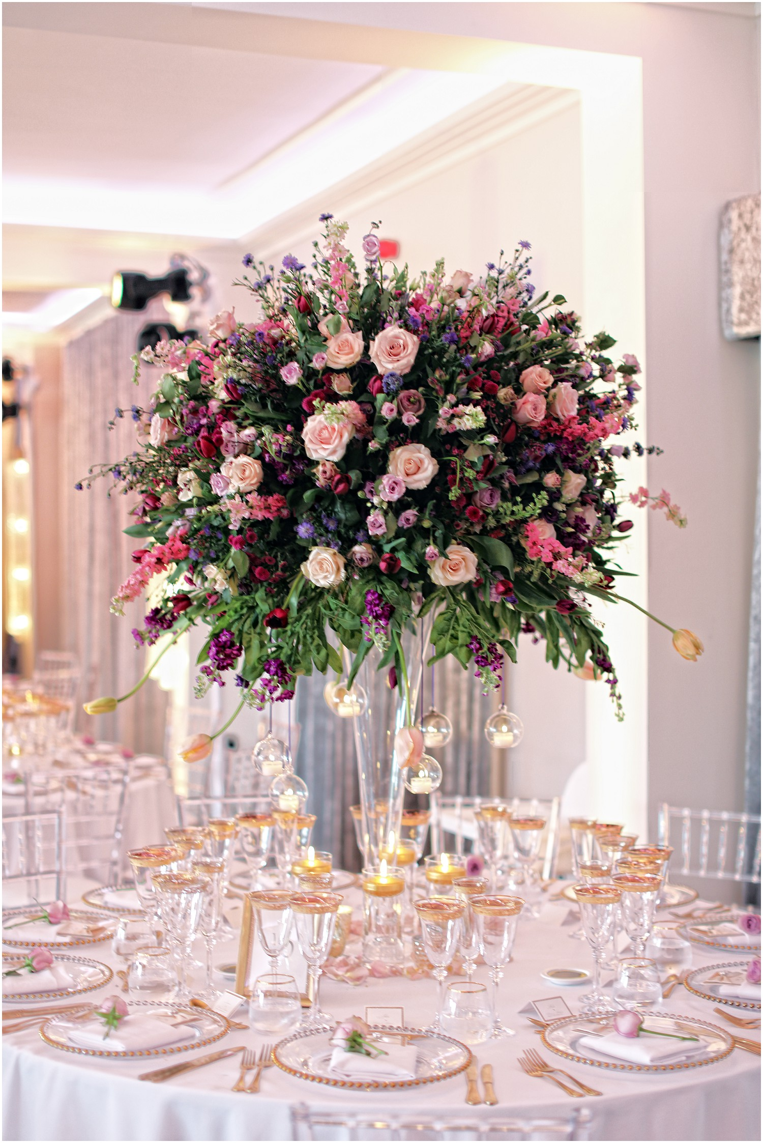 table centres wedding breakfast