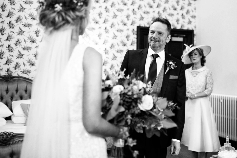 emotional brides dad